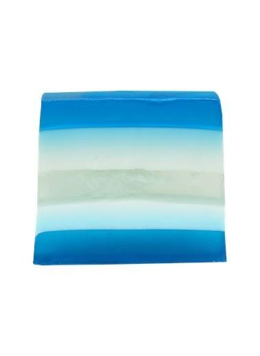 Bomb Cosmetics Big Blue Sabun Dilimi 100g Renkli